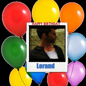 Happy Birthday Lorand